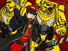 WH40K - Commissar Dan, GO by renzoku