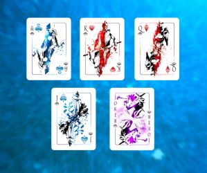 Warframe Playing Cards by ZeroFoxFaceless