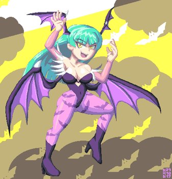 Morrigan by DangerMD