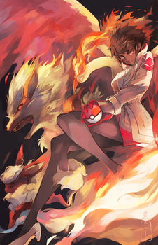 Team Valor leader Candela by OXMiruku