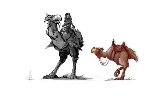 giant bird v1 by TheBeke
