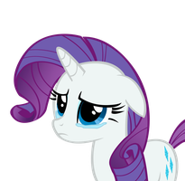 Rarity Sad by andy18