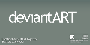 Unofficial deviantART Logotype by Miamoto