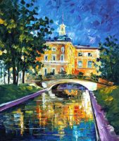 St. Petersburg 2 by Leonid Afremov by Leonidafremov