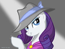 Rarity: Glamour Shot (Color) by Tim-Kangaroo