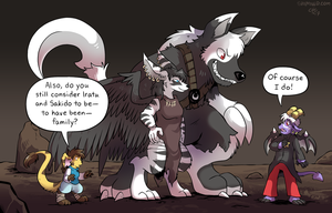 Slightly Damned page 331 redux panel by raizy