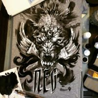 painting T-shirts_1 by EGOR-DOG