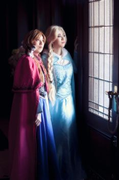 Elsa cosplay from Frozen part3 by mayuyu0405