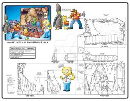 Simpsons Treehouse of Horror 3 by toymaker-cl
