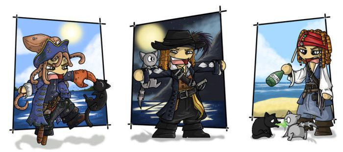 Best characters of PotC by Anna-MJM