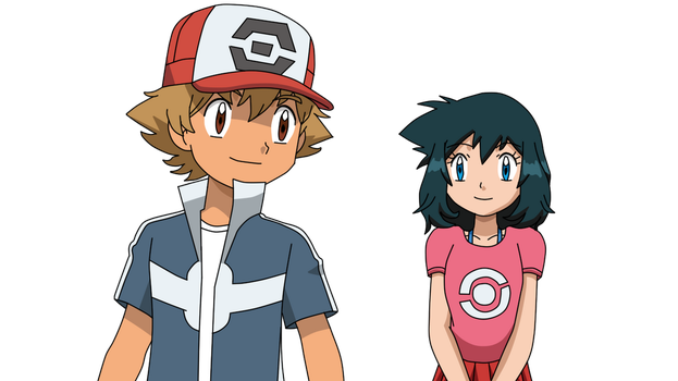 PKMN Fanart - My Own Amour fankid Ace and Arlina by Aquamimi123