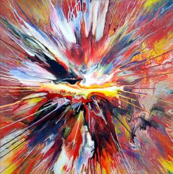 Abstract Spin Painting 23 by Mark-Chadwick