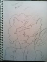 PinkieDash sweet kiss by Marigretle