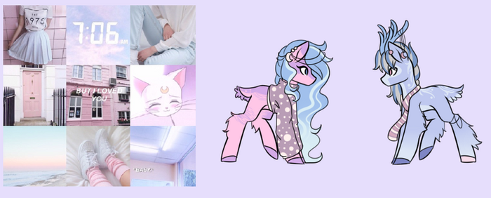 Aesthetic adopts - But i love you - CLOSED by WasatGemini