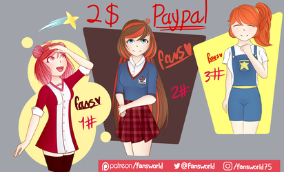 2$ adopts (abierto/open)(1/3)(paypal and pts only) by fabiola1989