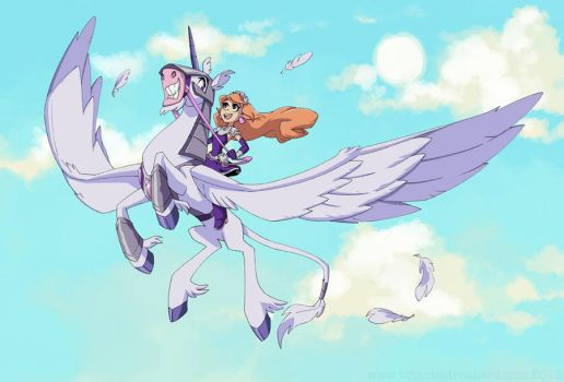 Pegacorn! by potatofarmgirl