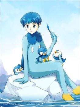 POKEMON: Piplup by BOMB4Y