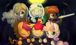 Halloween of filly ! by Marenlicious