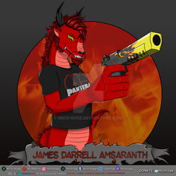 James Darrell Amsaranth [C] by Mich-Rose