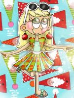 Wrapped up for Christmas [The Loud House] by JennALT-01angel