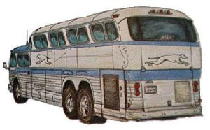 GM PD-4501 Scenicruiser rear by zekesgraphics