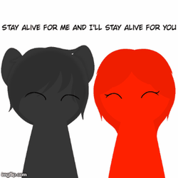 Stay alive for me by FunnyBoneSans