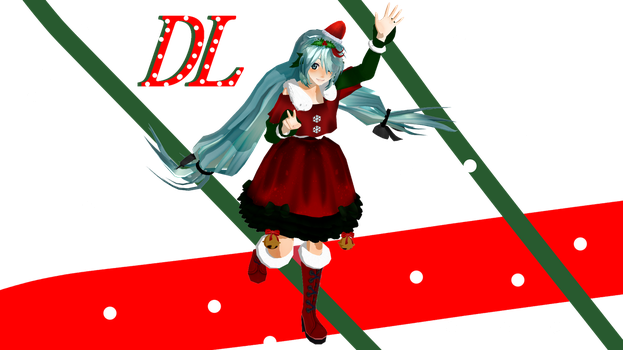MERRY CHRISTMAS MIKU DL!! by Ni-chyP