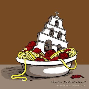 Mission-In-Pasta-Bowl by MonkeyCadaver