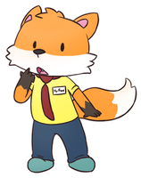 Mr. Fox (AT) by LeoTheLionel