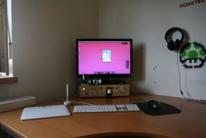 Real Life Desk No2 by monstrrr