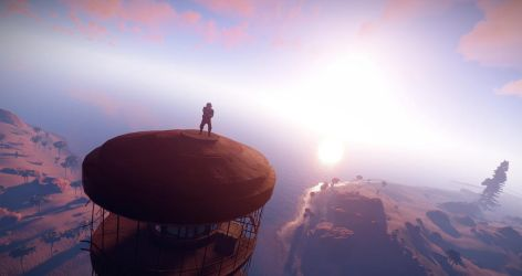 Atop the lighthouse by TheRealAimlessAnt61