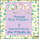 fmr - VintageBlueFlowers - PAT by fmr0