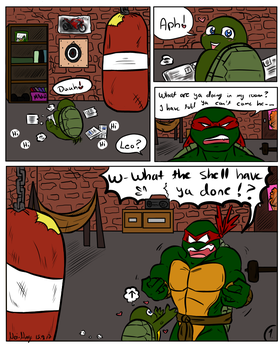 Raph and Baby Leo - Page 1 by Nei-Ning