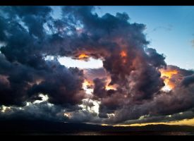 reggio calabria sunset by Impl69sioN