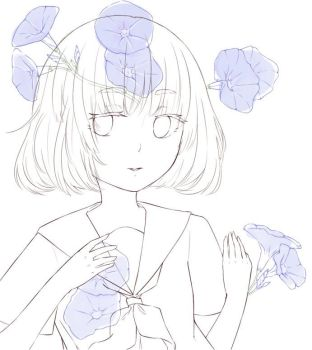 Morning Glories (A Work in Progress) by rinnedesu