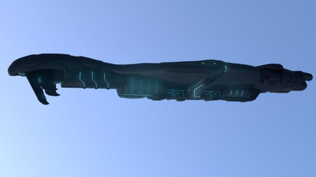 Halo Covenant Battle Cruiser