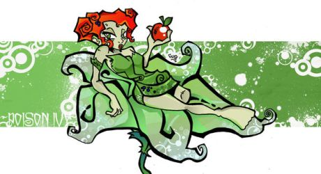 The Poison Of IVY by kraola
