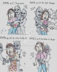 MMPR - Putty Patrollers love Kimberly Hart by CelmationPrince