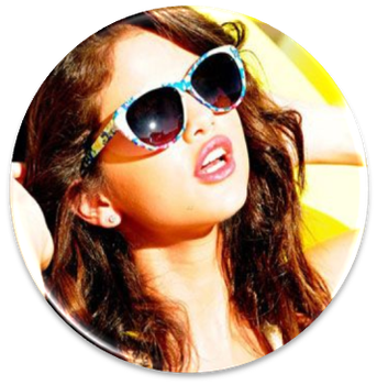 Circulo Selena Gomez - Hit the Lights png by niheditions