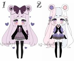 pastel adoptables CLOSED by AS-Adoptables