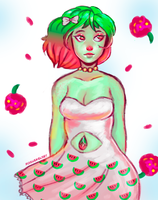 [AT] Watermelon Tourmaline by ROGUEKELSEY