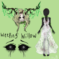 [CPP] OC.    The Weeping Willow by Little-ZA