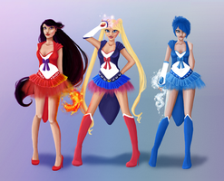 Sailor Moon by limonkaie