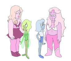 Defused Rainbow Quartzes by popinat