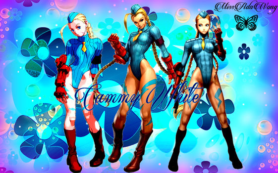 Cammy White Wallpaper 2 by MissAdaWong