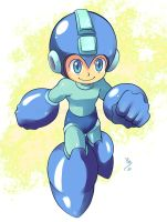 Rockman card for Ric by lince