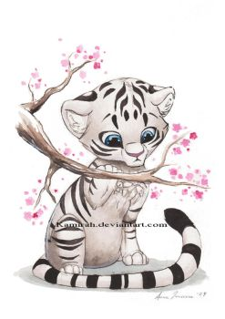 White Tiger by Kamirah