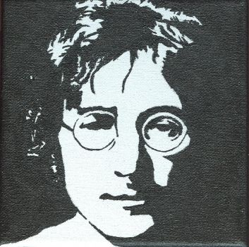 Portraits 2 - John Lennon by Julie-et-sa-camera