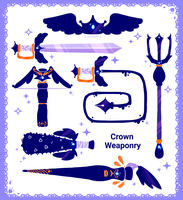 Royal Weaponry by Cafhune
