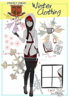 Red's Winter Clothing Meme by Feurette
